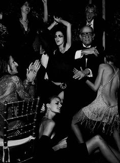 """Amazing shoot I did with a ton of super models!   """"Bacchanal"""" W Magazine Oct 2002 by Fabien Baron by claire-olio, via Flickr"""