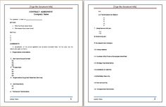 Sales Agreement Template At WorddoxOrg  Microsoft Templates