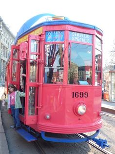 Tram per bambini, Milano