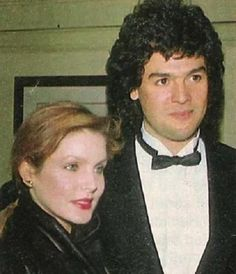 Priscilla Presley and Marco Garibaldi. A relationship that lasted over 21 years and produced their son, Navarone.