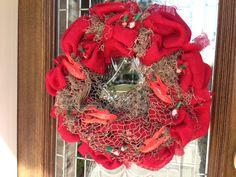Crawfish Boil Wreath