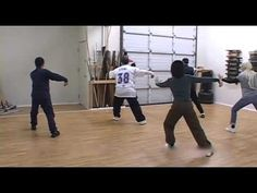 Yang Family Tai Chi Practice Cloud Hands to White Snake