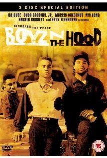"""""""Boyz in the Hood."""" Outstanding 1991 film about gangs and growing up in South Los Angeles. Great performances by Ice Cube, Cuba Gooding Jr., Angela Bassett and Laurence Fishburne. Rated R.  This film is recommended for groups attending our South Los Angeles site.  http://www.imdb.com/title/tt0101507/"""