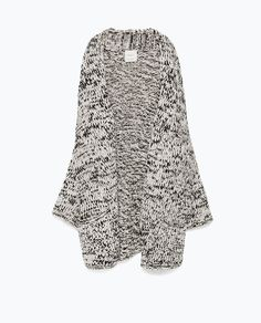 ZARA - NEW THIS WEEK - KNITTED CARDIGAN
