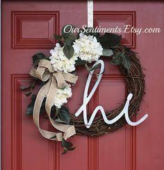 Hydrangea Wreath bur