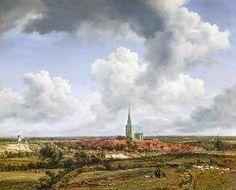 Jacob Isaacksz van Ruisdael - View of Ootmarsum 1670 Alte Pinakothek, Munich
