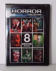 awesome Horror Collection 8 Movie Pack (DVD 2-Disc Set) USED MOVIE COLLECTION - For Sale