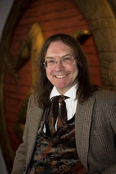 Ronald Hutton, brilliant author of books about folk traditions in the British Isles.