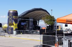 Giant Inflatable Rockstar Can