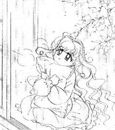 "Art from ""PQ Angels"" series by manga artist & ""Sailor Moon"" creator Naoko Takeuchi."
