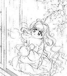 "Art from ""PQ Angels"" series by manga artist & ""Sailor Moon"" creator Naoko Takeuchi."