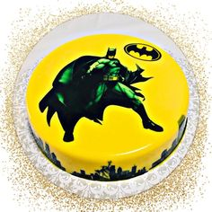 Cactus Painting, Batman Party, Jello, Bat Signal, Birthday Cakes, Superhero Logos, 3 D, Spiderman, Artist