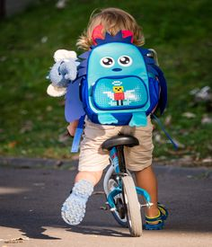 DIY kids Monster Backpack https://www.amazon.com/dp/B074V5LHFT