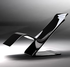 Slide Easy Chair by Stephen Tierney, futuristic furniture, modern chair, futuristic chair
