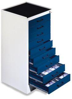 GTARDO.DE:  Werkzeugschrank, HxBxT 1000 x 500 x 500 mm, 9 Schubladen 608,00 €