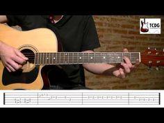 ▶ APRENDER COMO TOCAR LA PANTERA ROSA CLASE DE GUITARRA FACIL 2/2 ACORDES NOTAS TAB TCDG - YouTube