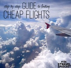 Flight prices vary dramatically, sometimes every hour, and it can leave you feeling like you if you just knew one extra thing or looked one other place, you might have been able to save yourself hundreds of dollars.  Now, you'll know exactly how to get the cheapest flights, every time!