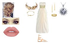 """""""Demi-witch"""" by lilithmartinez on Polyvore featuring Laurel Wreath Collection, Cloverpost, Cathy Waterman, Carolina Glamour Collection and Ancient Greek Sandals"""