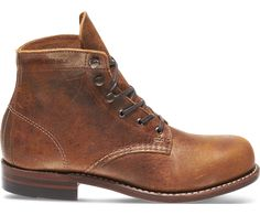 Women - 1000 Mile Boot - Gold Leather   Wolverine
