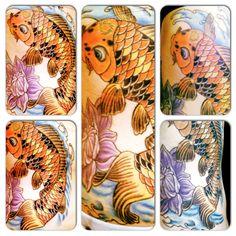 Koi fish - tattoo -