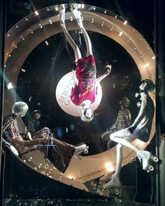 """BERGDORF GOODMAN, Fifth Avenue, New York, """"Listen Brandy... I'll roll with you till the wheels fall off"""", photo by Randy Gunderson, pinned by Ton van der Veer"""