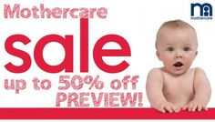 Up To 50% Off Summer Sale At Mothercare | On Toys, Maternity, clothing, etc.