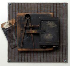 Between the Lines - exploration of long-hidden family secrets using collage and assemblage, by K.K. DePaul, Mixed Media Photographer