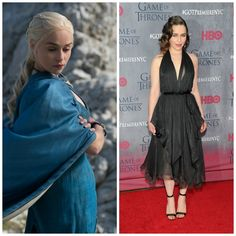 The 'Game Of Thrones' Cast, On And Off Screen-Daenerys Targaryen / Emilia Clarke