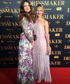 Our nevenka tribe at the Dressmaker premier in melbourne Dressmaker, Girls Night Out, Melbourne, Lifestyle, Film, Formal Dresses, Creative, Floral, Art
