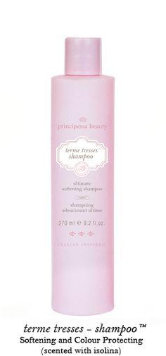 Principessa Beauty Inc. shampoo and conditioner - cruelty free, paraben free, sulfate free