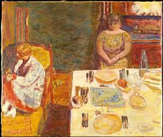Pierre Bonnard (French, Fontenay-aux-Roses 1867–1947 Le Cannet) Before Dinner