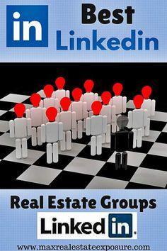 Best Linkedin Real Estate Social Media Groups - http://www.maxrealestateexposure.com/best-real-estate-social-media-groups/ via @massrealty