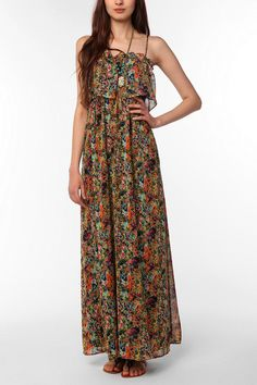 Bridesmaids  Pins and Needles Wildflower Maxi Dress  #UrbanOutfitters