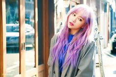 Nhuộm tóc như nhân vật anime mà sao Hani (EXID) vẫn đẹp đến phát hờn - Ảnh 5.