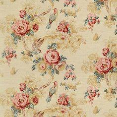Anna French Bird in the Bush Fabric Textile Patterns, Print Patterns, Anna French Wallpaper, Upholstery Courses, Indigo Prints, Antique Sofa, Retro Print, Fabulous Fabrics, Vintage Textiles