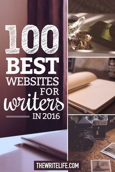 100 Best Websites for #NaNoWriMo Writers in 2016. #writingtips #websites