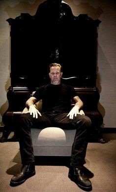 "King James - ""The Mighty Hetfield"""