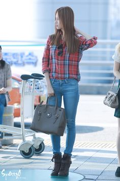 SNSD Seohyun Airport Fashion 140906 2014