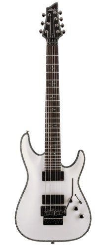 Schecter Hellraiser C-7 FR 7-String Electric Guitar (Gloss White) ** Check out this great product.