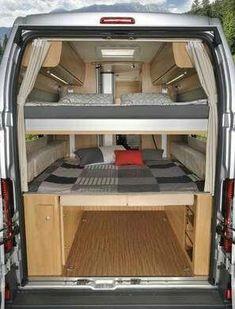 Motor Home - van life Kombi Trailer, Kombi Motorhome, Cargo Trailer Camper, Camper Caravan, Camper Life, Van Conversion Interior, Camper Van Conversion Diy, Ducato Camper, Mercedes Sprinter Camper