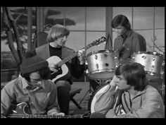 "The Monkees - ""Shades of Gray"" Davy Jones was my first crush...RIP, Davy. I like the sentiment behind this song because it reminds me of my childhood and a time when life really was black or white. Everything was so simple then, and I will always miss those days."