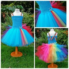 My Little Pony Rainbow Dash Inspired Handmade от BloomingTutusUK