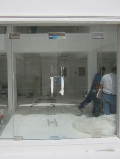 Glass Door for Shop #Glass #Door #Bahrain #Gastechnik #Tempered #Polished #17754200