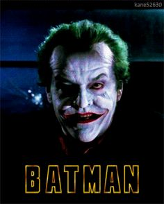 Batman (1989) Joker Motion Poster