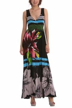 The elegant drape of the fabric and the contrast between black and hints of very Desigual colour are the secret behind this dress. Try it on and flaunt those curves like Adriana Lima in the newest Desigual TV ad!... I think I have a little bit more curve than Adriana Lima...
