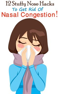 Having a blocked nose is the worst! Nasal congestion is not just uncomfortable but, is also unhealthy. Here are 12 stuffy nose hacks that you should live . Remedios Congestion Nasal, Nasal Congestion Remedies, Sinus Congestion Relief, Nose Block Remedies, Stuff Nose Remedies, Cold Remedies, Natural Remedies, Health Remedies, Congested Nose Remedies