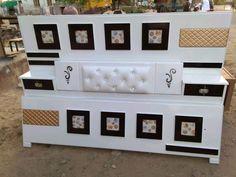 Box Bed Design, Bed Back Design, Bedroom Bed Design, Bedroom Furniture Design, Bed Furniture, Sofa Design, Design Table, Bed Designs India, Dressing Table Storage