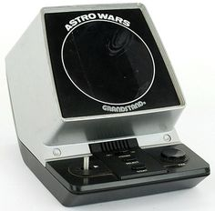 Grandstand Astro Wars - Table top video game unit from 1981 Carl Sagan Cosmos, 1980s Childhood, Childhood Days, Vintage Games, Vintage Toys, Retro Arcade, Mini Arcade, Old School Toys, Retro Videos