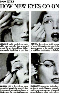 1950 Eyes: How New Eyes Go On