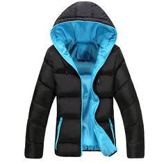 >> Click to Buy << 4XL Men Winter Casual New Hooded Thick Padded Jacket Zipper Slim Men And Women Coats Men Parka Outwear Warm, EDA020 #Affiliate